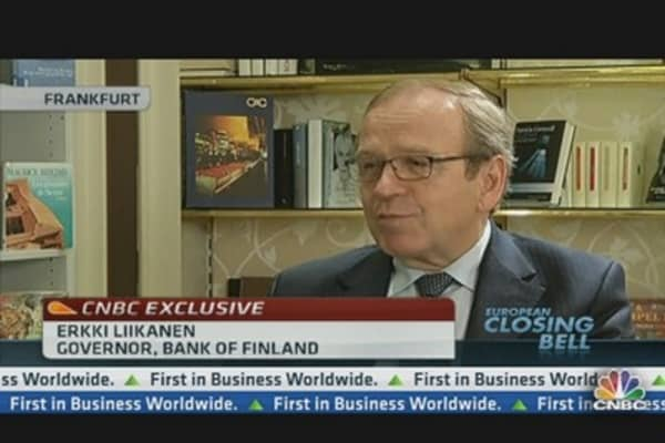 EU Needs New Laws to Deal With Failed Banks: Liikanen