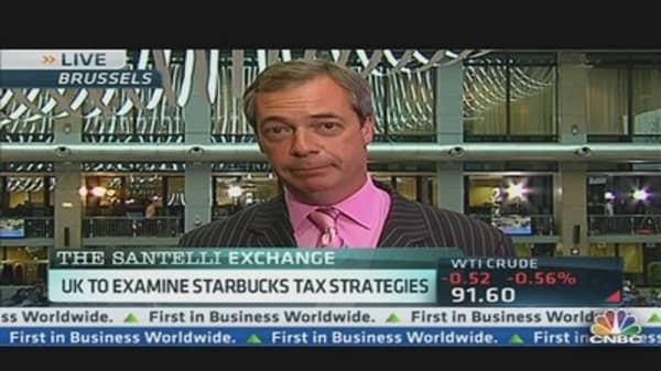 UK's Tax Probe Into Starbucks