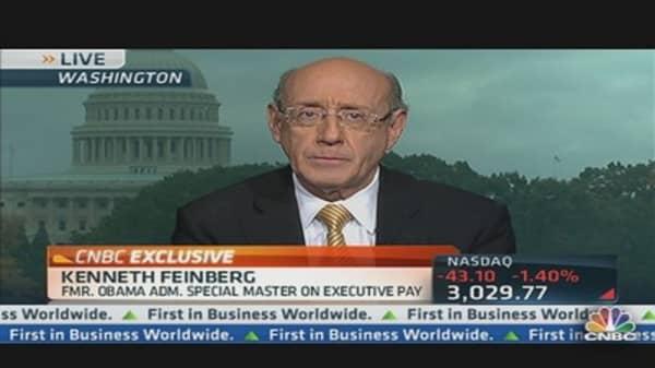 Pay Czar Feinberg on Pandit's Pay
