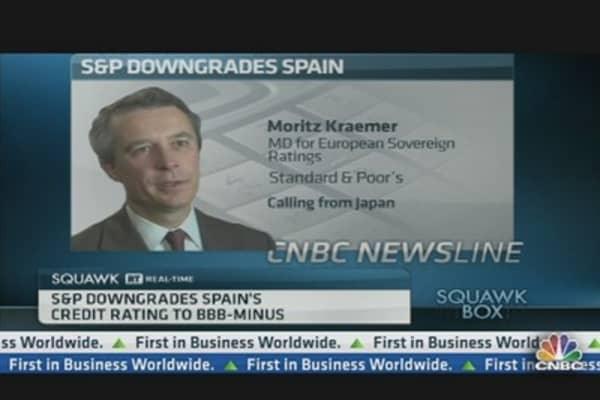 Why S&P Downgraded Spain