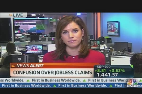 Confusion Over Jobless Claims