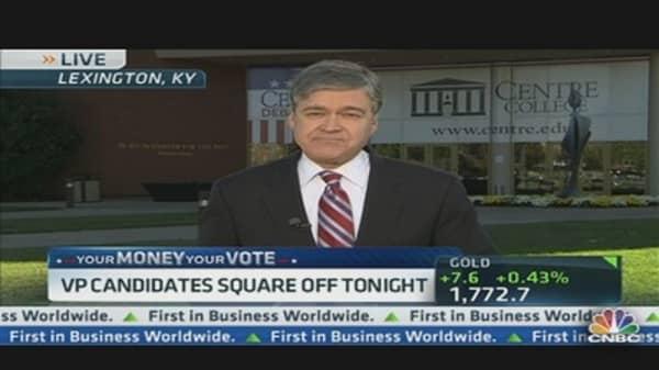 VP Candidates Square Off Tonight