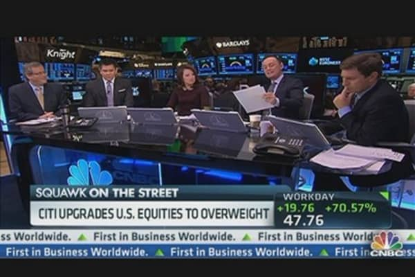 Citi Upgrades US Equities to Overweight