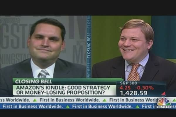 Amazon CEO: Sell Kindle 'At Cost'