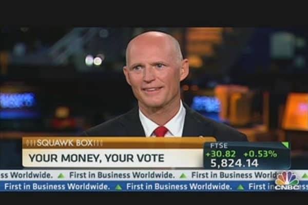 Gov. Scott's Sunshine Economics