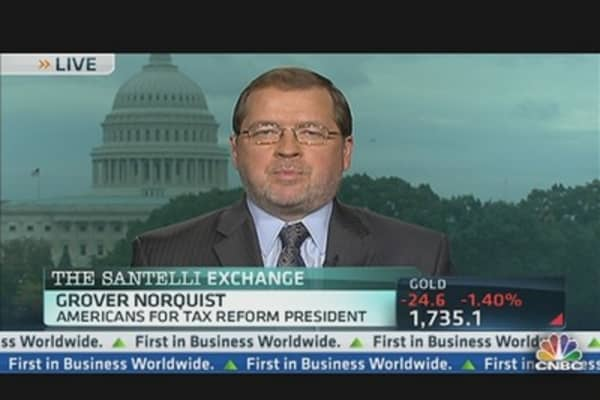Norquist Debates Tax Rates & Loopholes