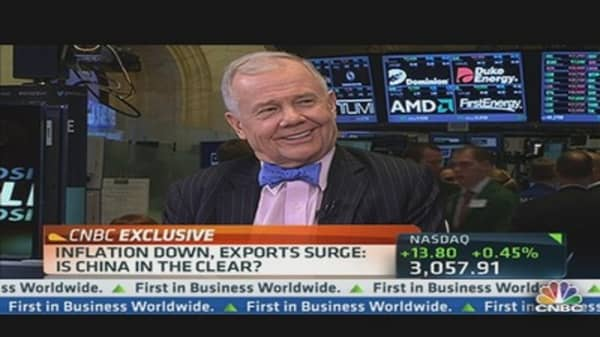 Jim Rogers: Not Buying US Equities