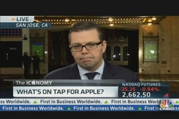 What's on Tap For Apple?