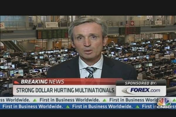 Strong Dollar Hurting Multinationals