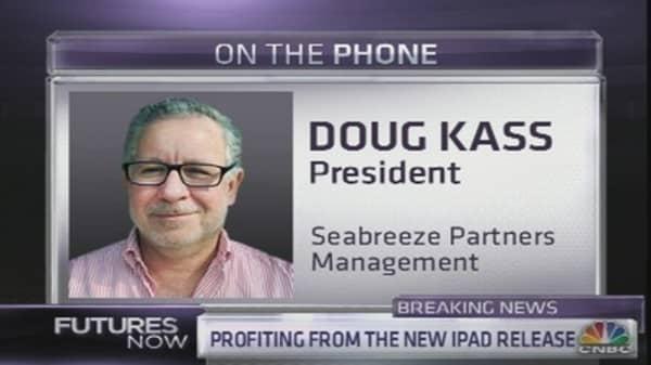 Doug Kass: Apple's Best Days Behind It