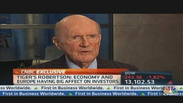 Tiger Management's Julian Robertson: Time to Invest