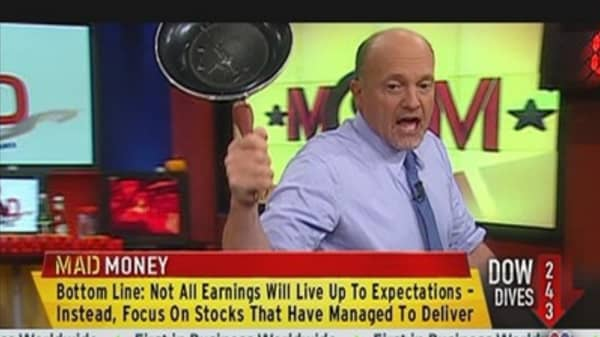 Still Ways to Profit From Weak Earnings: Cramer