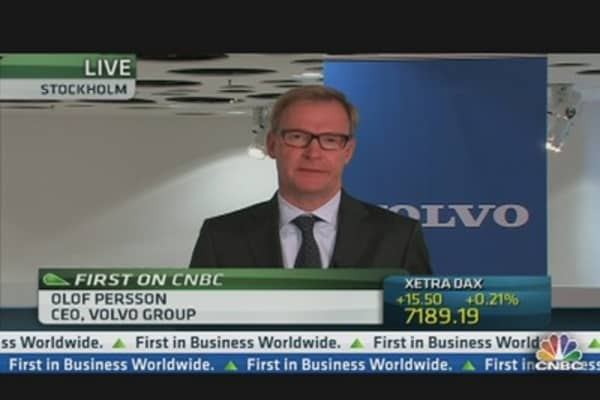 Volvo CEO: Low Demand and One Off Costs Hit Q3 Earnings