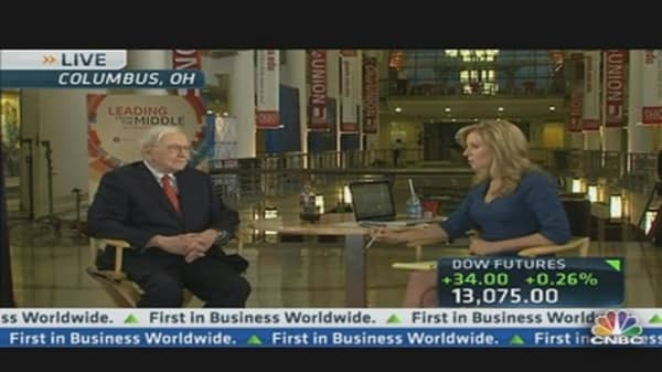Buffett: 'We'll Add 8,000 Jobs Organically'