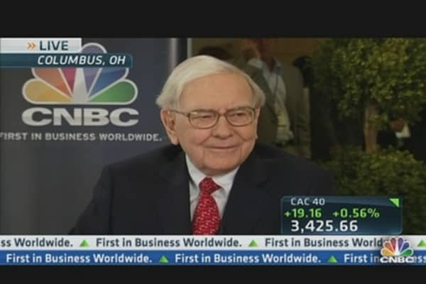 Buffett: Procter & Gamble Earnings Disappointing
