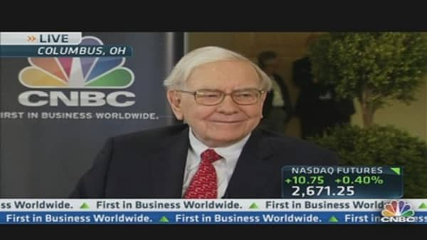Buffett: Euro Zone Banking Problem Clouds Recovery