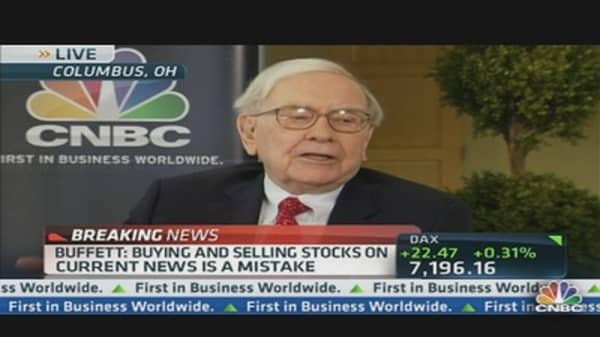 Warren Buffett: Don't Make This 'Terrible Mistake'
