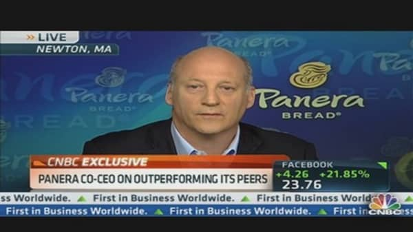 Panera Bread's Earning Rise: CEO