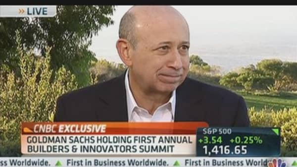 Goldman's Blankfein on Building Innovation
