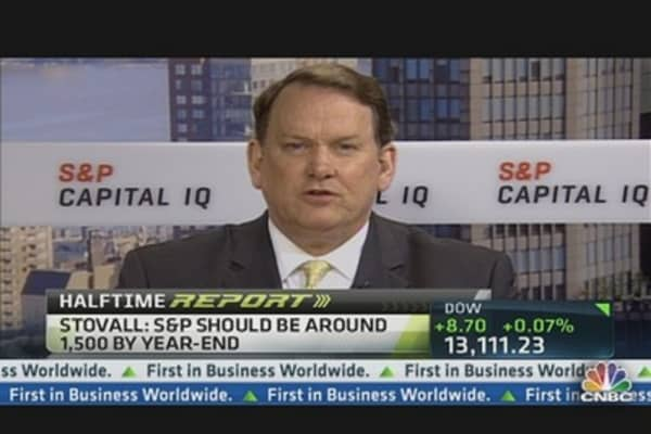 S&P to 1,550, Then 'Off the Cliff': Strategist