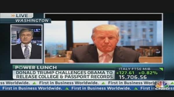 Trump's 'Very Big' Announcement