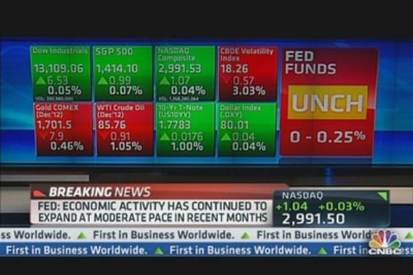 Fed Leaves Rates Unchanged
