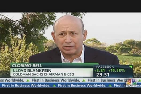 Lloyd Blankfein Reacts to Greg Smith's Book