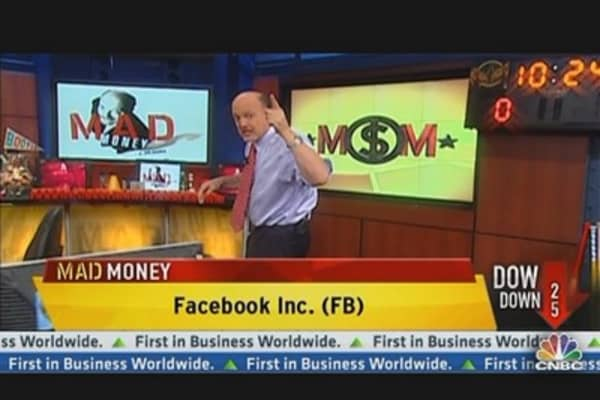 Cramer: Facebook's Move Up 19% Is Justified