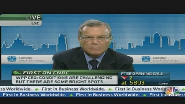WPP CEO: We See a Tremendous Degree of Caution