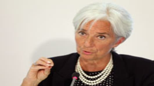 Schaeuble and Lagarde Clash Over Austerity