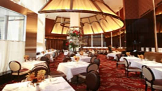 Le Cirque Restaurant in New York City.