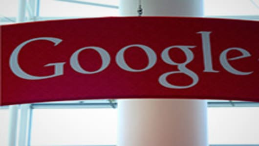 Google's SEC filing of its press release for its third-quarter results