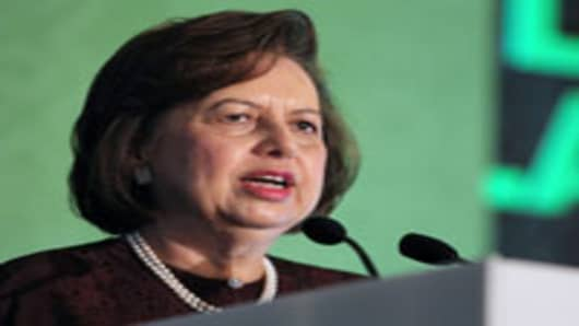 Zeti Akhtar Aziz, governor of Bank Negara Malaysia