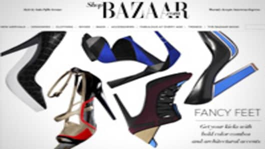On Monday, Harper's Bazaar became the latest in a string of magazines to partner with retailers to sell items to readers.
