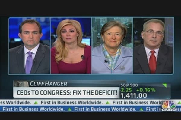 CEOs to Congress: Fix the Deficit!