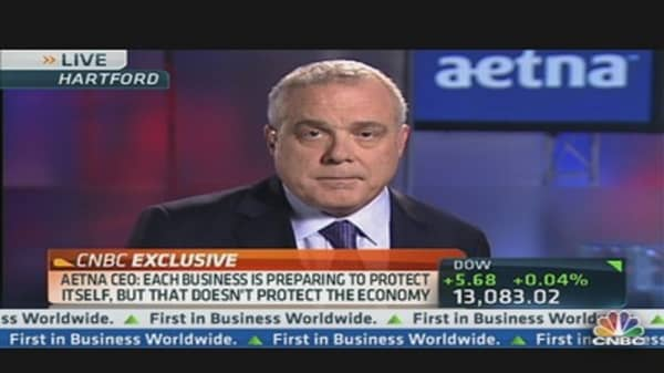 Aetna CEO Calls for Deficit Action