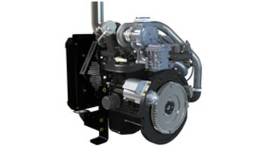 Turbo Engine Left