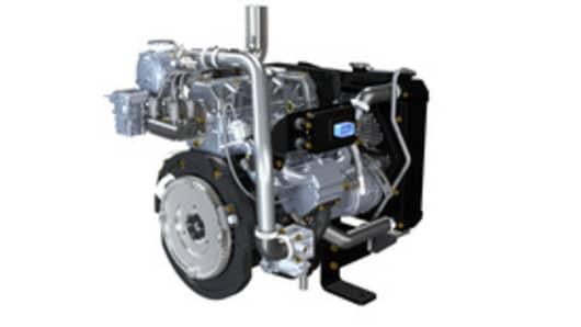 Turbo Engine Right