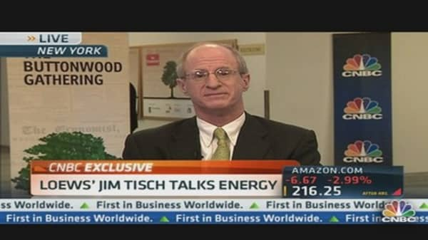 Loews' Jim Tisch Talks Energy