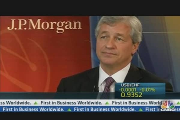 Jamie Dimon Sees Progress in Europe