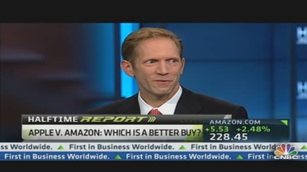 Amazon Vs. Apple: Blodget's Pick