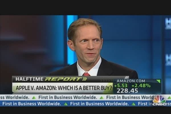 Amazon Vs. Apple: Blodget's Pick