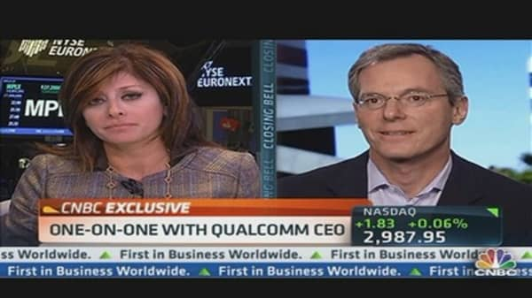Qualcomm CEO: Half of Mobile Connections in Emerging Markets