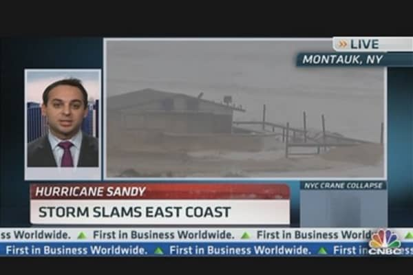 Brian Stutland's Favorite Hurricane Sandy Play