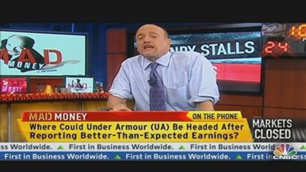 Cramer: Don't Stray Far From Home