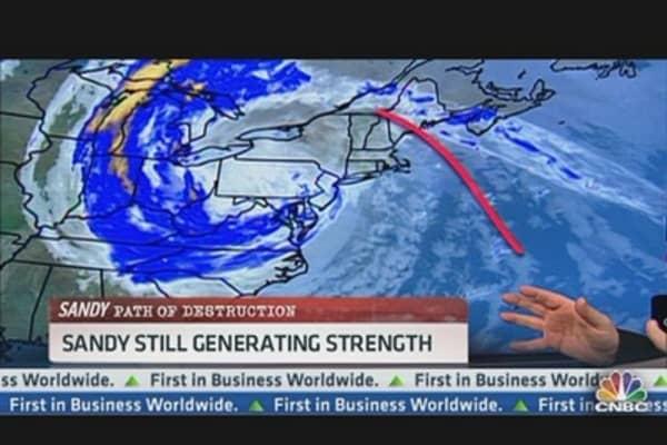 Devastations From Sandy