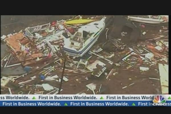 Sandy Damage Forecasted at Up to $50 Billion