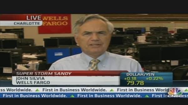 Sandy Could Provide Economic Boost: Economist