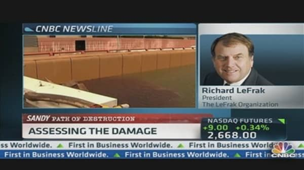 Real Estate Magnate Assesses NYC Damage