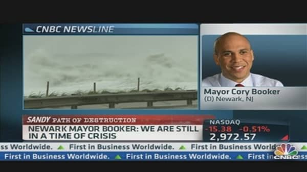 Sandy's Impact on NJ's Largest City